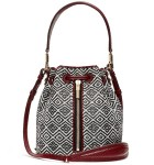 Jennifer Lawrence Loves Her...Elizabeth and James Cynnie Woven Mini Bucket Bag