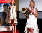 Rosamund Pike In Antonio Berardi - 'Gone Girl' Shanghai International Film Festival Premiere