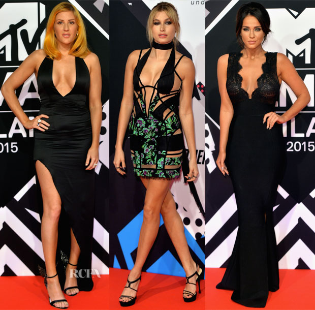 2015 MTV EMA's Red Carpet Roundup