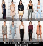 Who Was Your Best Dressed At The ELLE Women In Hollywood Awards?