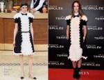 Kaya Scodelario In Chanel -  'Maze Runner: The Scorch Trials' Paris Premiere