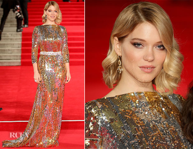 Lea Seydoux In Prada - 'Spectre' London Premiere