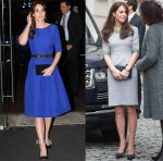 Catherine, Duchess of Cambridge In Saloni & Matthew Williamson - Fostering Network's 'Fostering Excellence Awards' & Place2Be Headteacher Conference