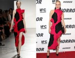 Chloe Sevigny In Proenza Schouler - '#Horror' New York Premiere