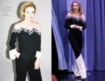 Saoirse Ronan In Nafsika Skourti - The Tonight Show Starring Jimmy Fallon