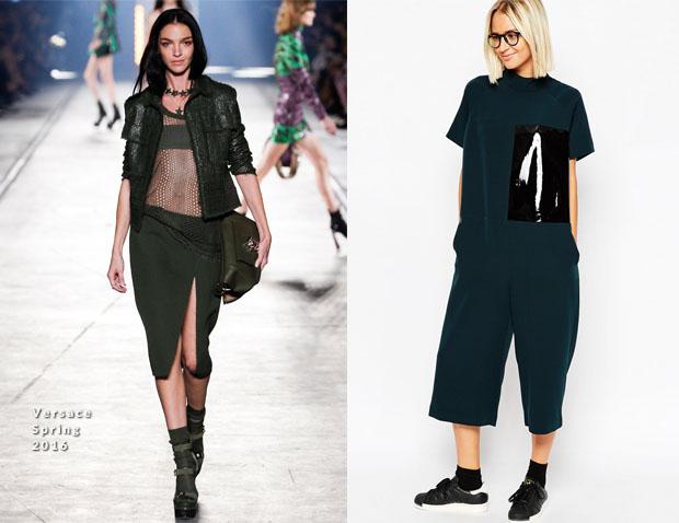 Hailee Steinfeld in Versace & ASOS