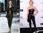 Amber Valetta In Alexandre Vauthier Couture - Harper's Bazaar Celebrates 150 Most Fashionable Women