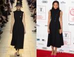 Naomie Harris In Christian Dior - The London Critic's Circle Film Awards