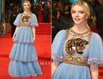 Anya Taylor-Joy In Gucci - 2017 BAFTAs