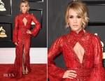Carrie Underwood In Elie Madi - 2017 Grammy Awards