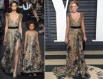 Elizabeth Banks In Elie Saab Couture - 2017 Vanity Fair Oscar Party