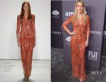 Ellie Goulding In Jenny Packham - amfAR New York Gala