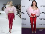 Rowan Blanchard In Giambattista Valli Couture - Vanity Fair Young Hollywood Party