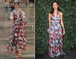 Thandie Newton In Chanel - Charles Finch & Chanel Pre BAFTA Party