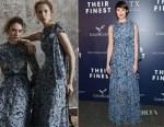 Gemma Arterton In Erdem - 'Their Finest' New York Screening