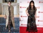 Sofia Boutella In Valentino - The CinemaCon Big Screen Achievement Awards