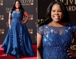 Amber Riley In Tony Ward Couture - 2017 Olivier Awards