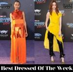Best Dressed Of The Week - Zoe Saldana In Emilio Pucci & Karen Gillan In Monse