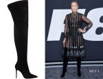 Charlize Theron's Gianvito Rossi Lea Cuissard boots