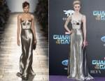 Elizabeth Debicki In Bottega Veneta - 'Guardians Of The Galaxy Vol. 2' LA Premiere