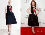 Ellie Kemper In Reem Acra - 'Unbreakable Kimmy Schmidt' Tribeca Film Festival Premiere