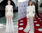 Kim Kardashian In Givenchy Couture - Daily Front Row's 3rd Annual Fashion Los Angeles Awards
