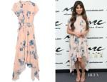 Lea Michele's Ulla Johnson Luisa dress