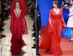 Monica Bellucci In Valentino Couture - 2017 Beijing International Film Festival Closing Ceremony
