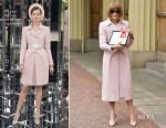 Dame Anna Wintour In Chanel Couture - Investitures Ceremony