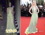 Elle Fanning In Gucci - 'How To Talk To Girls At Parties' Cannes Film Festival Premiere