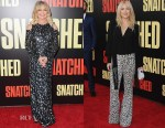 Goldie Hawn & Kate Hudson In Michael Kors Collection - 'Snatched' LA Premiere