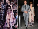 Jennifer Lopez In Elie Saab - Out In New York