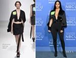 Kim Kardashian In Chalayan - 2017 NBCUniversal Upfront