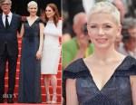 Michelle Williams In Louis Vuitton - 'Wonderstruck' Cannes Film Festival Premiere