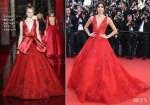 Sara Sampaio In Zuhair Murad Couture - 'Ismael's Ghosts' Cannes Film Festival Premiere