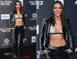 Annie Ilonzeh In St. John - 'All Eyez on Me' LA Premiere
