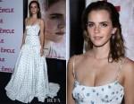 Emma Watson In Miu Miu - 'The Circle' Paris Premiere