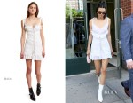 Kendall Jenner In Daisy - Out In New York