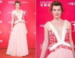 Milla Jovovich In Prada - 20th Shanghai International Film Festival