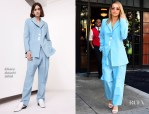 Rita Ora In Ellery - Out In New York
