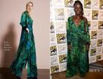 Lupita Nyong'o In Elie Saab - Comic-Con 2017: Marvel Studios 'Black Panther' Presentation