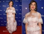 Mandy Moore In Carolina Herrera - Disney's D23 EXPO 2017