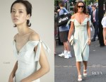 Pippa Middleton In Tephi - Wimbledon Tennis Championships Day 7