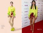 Victoria Justice In Sergio Hudson - The Grand Opening Of The Highlight Room At DREAM