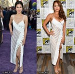 Who Wore David Koma Better? Elodie Yung or Lindsey Morgan?