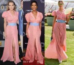 Who Wore Rosie Assoulin Better? Jacqui Ainsley, Tamron Hall or Jessica Hart?