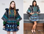 Jessica Szohr In Kenzo x H&M - harper by Harper's BAZAAR September Issue Party