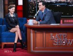 Millie Bobby Brown In CG - 'The Late Show with Stephen Colbert'