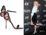 Peyton List's Sophia Webster 'Chiara' Sandals