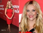 Reese Witherspoon In Roland Mouret - 'Home Again' LA Premiere